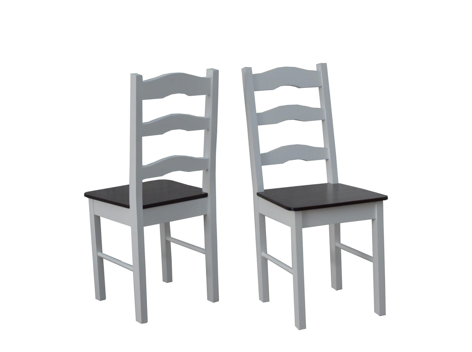 Inteligentny Krzesło do kuchni białe/krem model 7 - Stół Plus Krzesła VL68