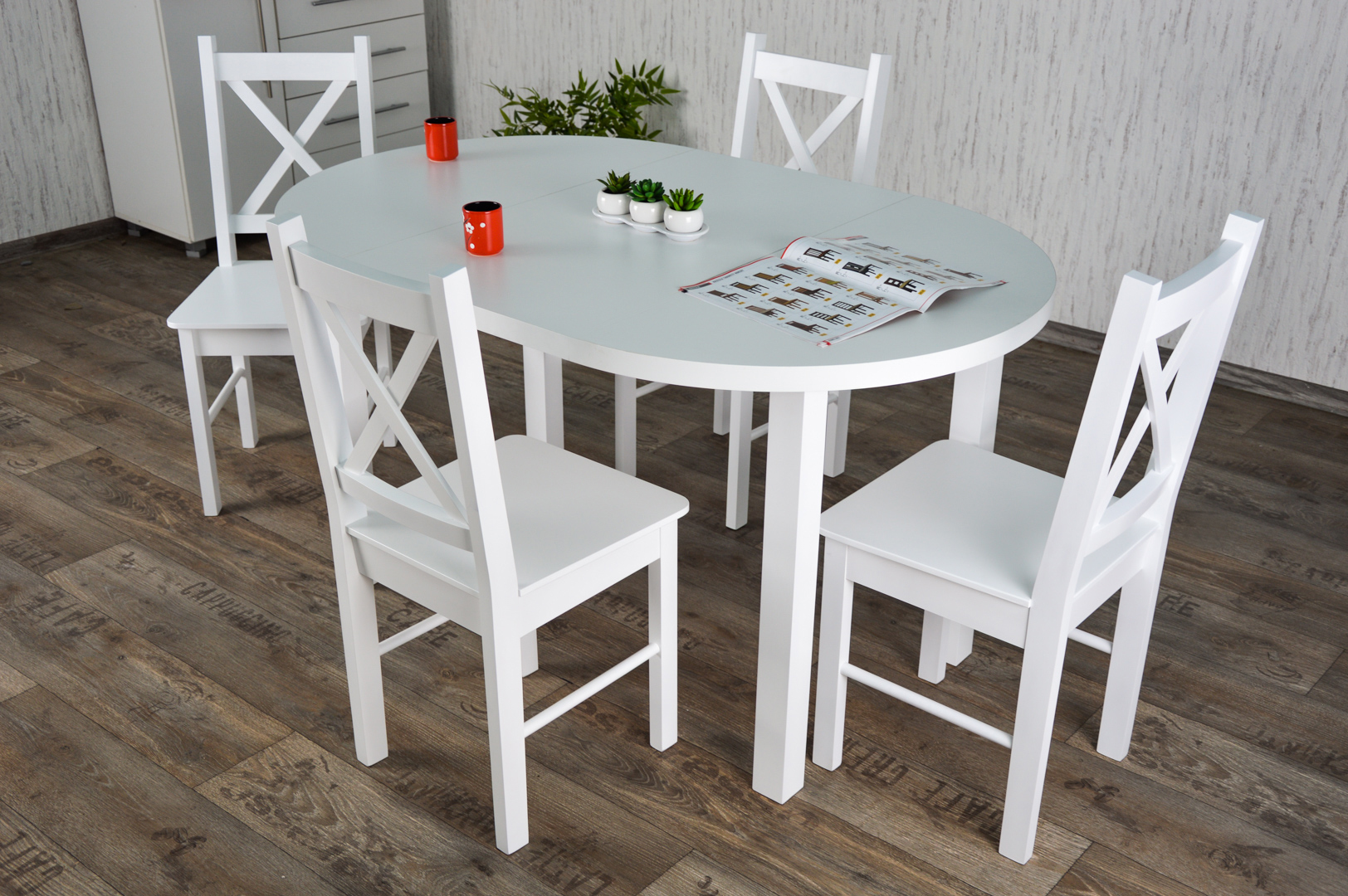 Krzesla Nowoczesne Do Kuchni A Styl Prowansalski Stol Plus Krzesla