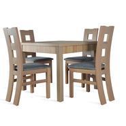 Stoły rozkładane z krzesłami