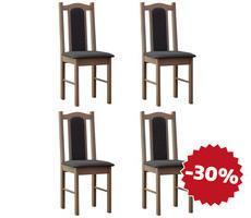 Klasyczne krzesła drewniane model 3