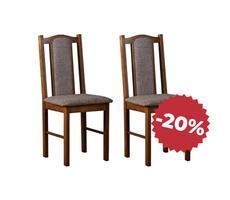 Komplet krzeseł drewnianych do jadalni