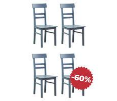 Komplet krzeseł drewnianych do kuchni