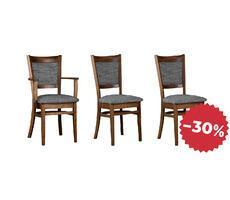 Komplet krzeseł stylowych