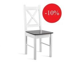 Krzesło do kuchni białe/krem model 79