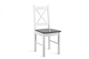 Krzesło do kuchni białe/krem model 79T