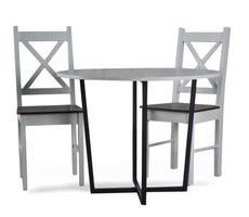 Stół + 2 krzesła - zestaw kuchenny