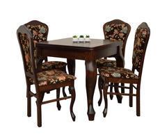 Stół + 4 krzesła -  okleina naturalna