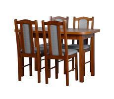 STÓŁ + 4 KRZESŁA - stół rozkładany