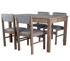 STÓŁ + 4 krzesła - zestaw pokojowy