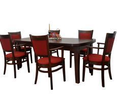 Stół + 6 krzeseł -  OKLEINA NATURALNA
