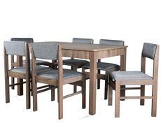 STÓŁ + 6 krzeseł - zestaw pokojowy