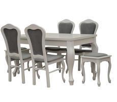 Stół do dalonu GEORGE z krzesłami model 35 i taboretami model 5
