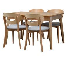 Stół do jadalni REMY z krzesłami JAZZ