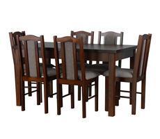 Stół do jadalni - rozkładany do 180cm z krzesłami