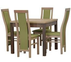 Stół do jadalni - rozkładany do 240 cm + 4 krzesła