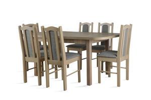 Stół do jadalni ST37 z krzesłami model 3