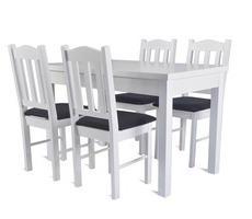 Stół do jadalni ST44 z krzesłami model 16