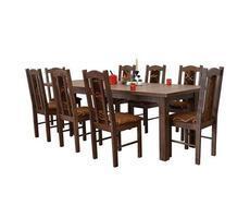 Stół do jadalni W1 z krzesłami model 3