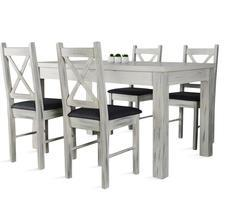 Stół do jadalni W1 z krzesłami model 80