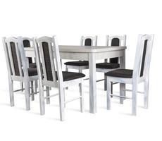 Stół do jadalni W2 z krzesłami model 3