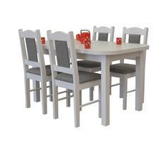 Stół do kuchni ST37 z krzesłami model 11