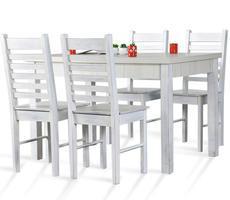 Stół do kuchni W1 z krzesłami model 26