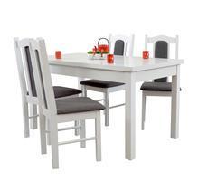 Stół do pokoju z krzesłamy - rozkładany