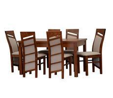 Stół do salonu - rozkładany do 180cm + 6 krzeseł