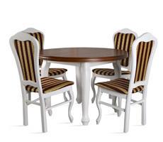 Stół do salonu ST32 z krzesłami model 35