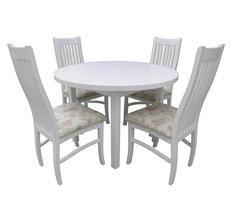 Stół do salonu ST32 z krzesłami model KR