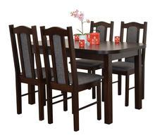 Stół do salonu ST37 z krzesłami model 3