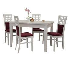 Stół do salonu W1 diament z krzesłami model 23