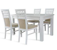 Stół do salonu W1 z krzesłami model 23