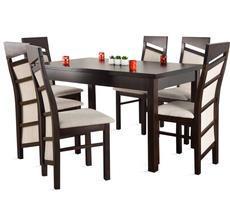 Stół do salonu W1 z krzesłami model 63