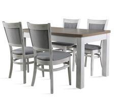 Stół do salonu W2 z krzesłami model 74