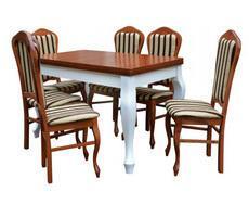 Stół do salonu W3 z krzesłami model 35