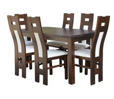 Stół do salonu W5 z krzesłami model 76