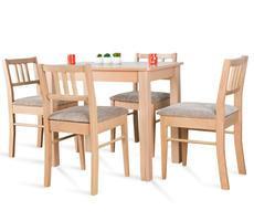 Stół kuchenny 90x60cm z 4 krzesłami