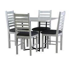 Stół kwadratowy Alabama z krzesłami KR 26