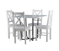 Stół kwadratowy Alabama z krzesłami KR 79