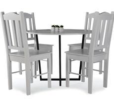 Stół okrągły Alabama z krzesłami KR 12