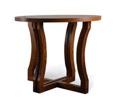 Stół okrągły drewniany - rozkładany do 190 cm