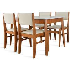 Stół pokojowy 80x120cm z 4 krzesłami