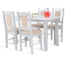 STÓŁ ROZKŁADANY + 4 krzesła- zestaw kuchenny