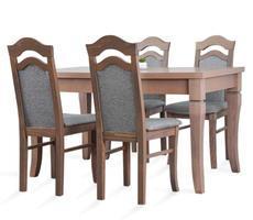 Stół rozkładany 80x140/180cm z 4 krzesłami