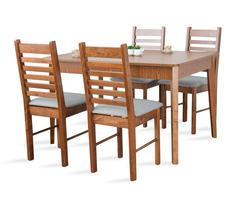 Stół rozkładany do 165cm z 4 krzesłami