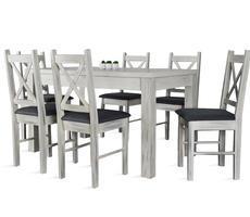 Stół rozkładany do 180cm + 6 krzeseł