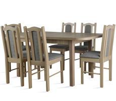 Stół rozkładany do 180cm - z 6 krzesłami