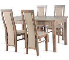 Stół rozkładany do 250cm z 4 krzesłami