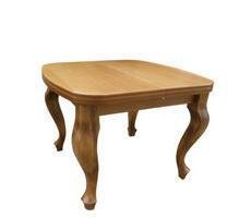 Stół rozkładany W4 okleina naturalna kwadratowy